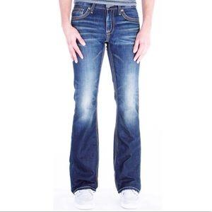 BKE Fulton men's bootcut Jeans, size 25S